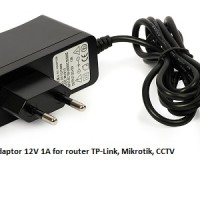 Adaptor Power 12v 1a For Router, Mikrotik, Cctv