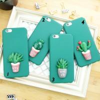 cactus kaktus plant case iphone 5/5s/SE/6/6s/6+/6s+