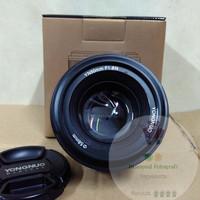 harga Lensa Fix Yongnuo f1.8 50 mm untuk kamera Nikon Tokopedia.com