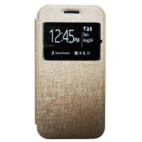 Zagbox Flip Cover Oppo Neo 7 A33 - Gold