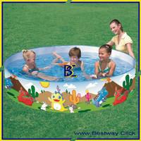 Kolam Anak Dinosaurous Fill 'N Fun Pool Bestway 55001 (Tanpa Dipompa)