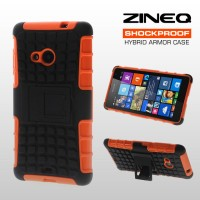 Bumper ZINEQ Shockproof Hard Soft Case Cover Nokia Microsoft Lumia 535