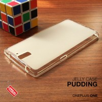 Softcase Back Clear Kuat Keren Soft Case Cover Casing Oneplus One / 1
