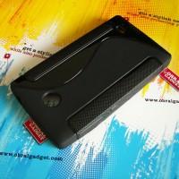 Softcase Black TPU Kondom Jelly Clear Soft Case Cover Casing Nokia X
