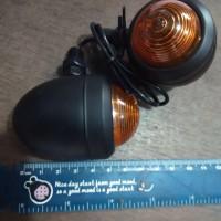 harga lampu sen riting jap style cb rx king bulet besi Tokopedia.com