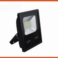 harga 20W FLOOD LIGHT LAMPU SOROT PJU LED SLIM AC 85 - 220V Tokopedia.com