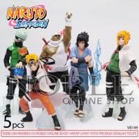 Naruto Shippuden 5pcs -Koleksi-Pajangan-Action Figure Set-VB149