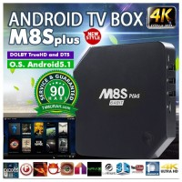 TV Box Android, M8S +, 2 GB RAM, 11 GB ROM, Murah, Bergaransi