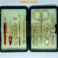 777 Three Seven Manicure Set Ds-1304g Gold