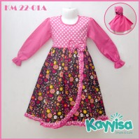 Kayyisa Gamis Anak Cantik KM 22-01A