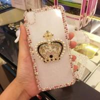 crown mahkota diamond swarovski case hp oppo n1 mini n3 neo 3 7 mirror