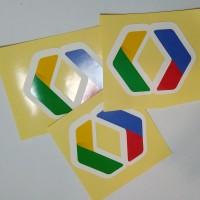 Stiker Google Developer vinyl cut