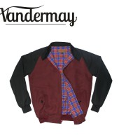 harga Jaket Harrington Vandermay highquality 2 Tone Tokopedia.com