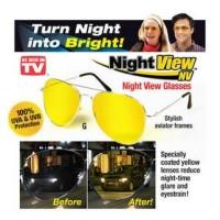 Kaca mata anti silau cahaya model trendy bukan kaca mata mp3