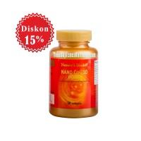 harga Nature's Health Nano Co-q-10n (60 Mg) | Antioksidan, Kesehatan Jantung Tokopedia.com