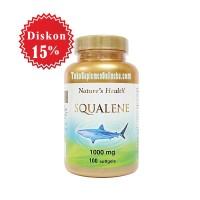 harga Nature's Health Squalene 1000 Mg | Omega, Kolesterol, Jantung, Darah Tinggi Tokopedia.com