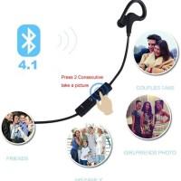 harga Earphone Headset Bluetooth 4.1 Handsfree Sport Headset Bluetooth Helm Tokopedia.com