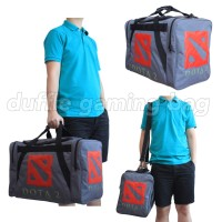 Jual Tas Gaming Duffle Bag Dota 2 Dota2 CS:GO Logo Gamer Shoulder Bags Murah