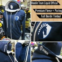 Jaket Gaming Dota 2 Dota2 Team Liquid Blue 2016 Official Hoodie Jacket