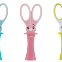 gunting kertas kartun kelinci bunny safety children's scissors sgk001