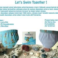 Jual Reusable Swim Diaper / Popok Renang Minikinizz Size 1 (7-11Kg) Murah