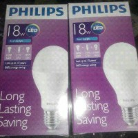 harga Lampu LED Philips 18 watt Bohlam 18w / Philip Putih 18 w Bulb LED 18wa Tokopedia.com