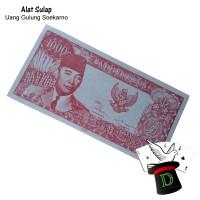 Uang Gulung Soekarno Rp 1.000 | Alat Sulap | Horror | Dimen Shop