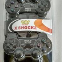 GAMEPAD DOUBLE GETAR WELCOM / JOYSTICK USB / STICK KOMPUTER