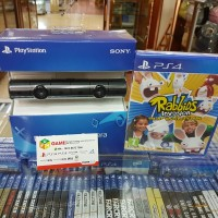Camera Ps4 Motion VR With Stand &Kaset Rabbids Invasion