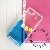 Casing iphone 6/6s / 6+ Hardcase Cover Duck Bebek Air Biru Naik Turun