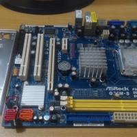 Mobo Asrock G31M-S FSB1600 DDR2 800