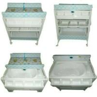 Jual Pliko Baby Tafel /Changing Table Lengkap Matras Empuk Dan Bak Mandi Murah