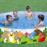 Kolam Anak Dinosaurous Pool Bestway #55001 (Tanpa Dipompa)