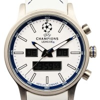 Jacques Lemans UEFA Future Champion - Jam Tangan Pria - Strap Leather1