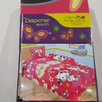 Sprei Lady Rose Hello Kitty Tokidoki ukuran single 120