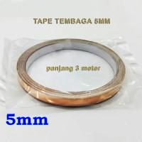 harga Tape Tembaga 5mm 3 Meter Tokopedia.com