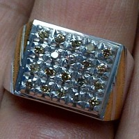Cincin Berlian Natural Diamond