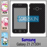 Garskin Samsung Galaxy Z1 Z130H bisa pakai gambar bebas