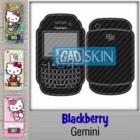 Garskin Blackberry Gemini bisa pakai gambar sendiri