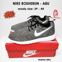 Nike Rosherun Men's - Abu Putih | Sepatu Nike Men's | Nike Abu Putih