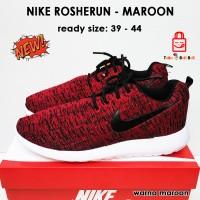 Nike Rosherun Men's - Maroon | Sepatu Nike | Nike Rosherun Maroon