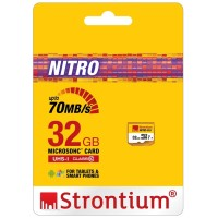 Strontium Nitro 32GB 70MB / S Class 10 UHS-1 MicroSDHC