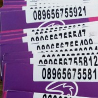 Kartu perdana three BOMS gratis sms all operator