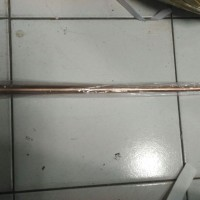 Splitzen / Tombak Anti Petir 30 Cm Kuningan (Penangkal Petir) + Pipa