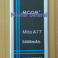 Baterai Battery Mito A77 Fantasy Selfie Double Power