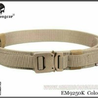 TACTICAL BELT EMERSON ORIGINAL 1000D MILITARY AIRSOFT OUTDOOR EM9250 K
