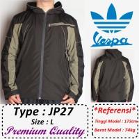 harga PROMO DISKON!!! Jaket Adidas Vespa ,Untuk Motor Harian hoodie *JP27 Tokopedia.com