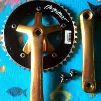 harga Crank fixie lasco gold 46 t Tokopedia.com