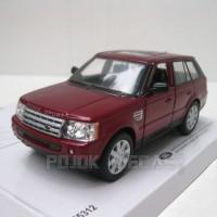 Range Rover Sport Merah Diecast Miniatur Mobil Kinsmart