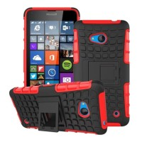 Hybrid Armor Bumper Hard Case Casing Nokia Microsoft Lumia 640 LTE